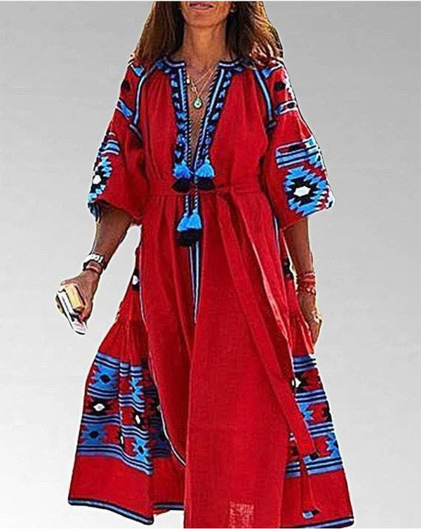 Этнические Платья Купить