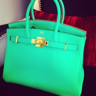 bag leather purse turquoise