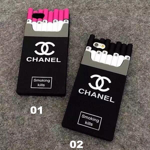 Coque Chanel Cigarette Iphone