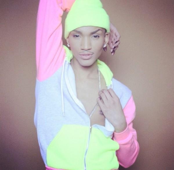 jacket hat neon