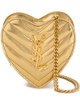 mini love bag crossbody bag metallic