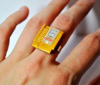 jewels game boy nintendo zelda ring gold