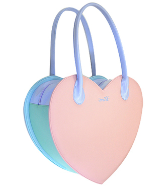 bag heart purse pastel kawaii cute pink blue purple kawaii bag