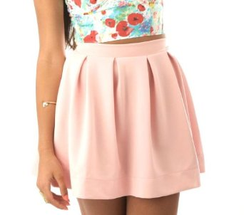 Women's Neo Skater Skirt at Amazon Women's Clothing store: Pink ...