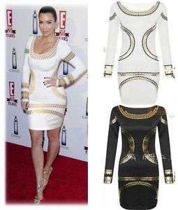 Celebrity Fashion Women's Sexy Party Clubwear Evening Sheath Slim Bodycon Dress | eBay