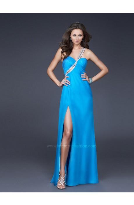 Satin Floor-Length Empire Sleeveless Prom Dresses