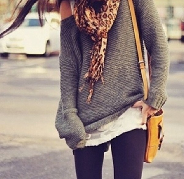 scarf sweater tumblr tumblr girl tumblr clothes