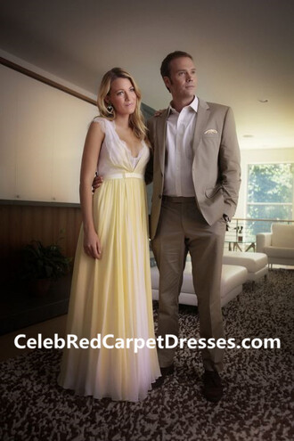 dress blake lively blake lively dress yellow dress gown