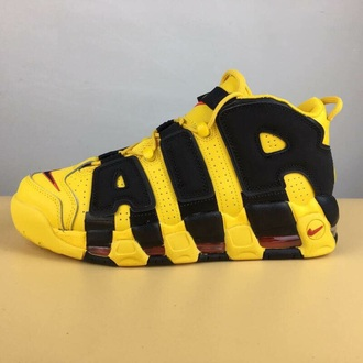 shoes nike black nike shoes nike air nike sneakers yellow