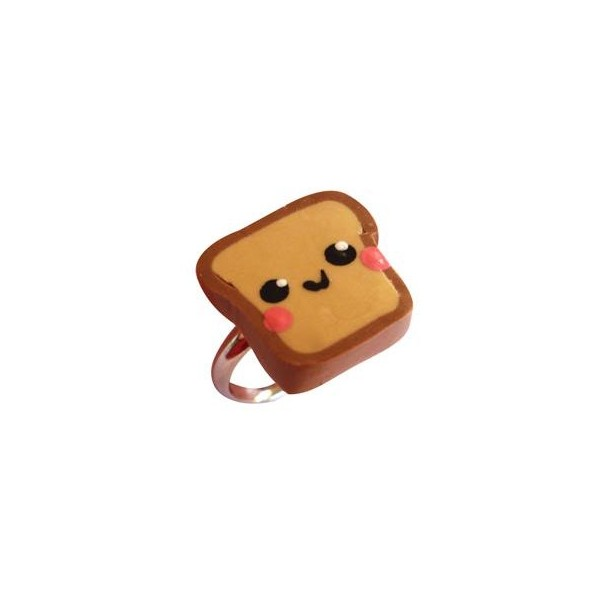happy toast ring - Lunacy Clothing Boutique - Polyvore