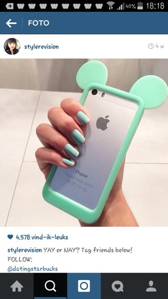 phone cover mickey mouse ears iphone 6 case.