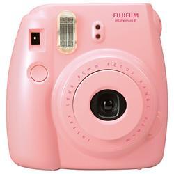 Fuji Instax Mini 8 Pink Instant Camera (P10GLB3090A) - dabs.com