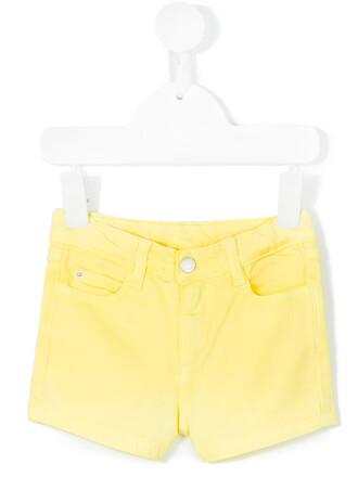 shorts cotton yellow orange