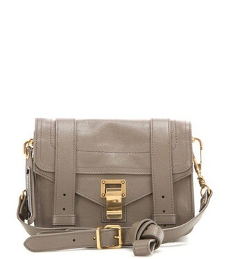 mini bag shoulder bag leather brown