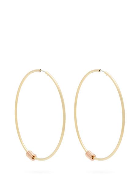 SPINELLI KILCOLLIN Leela 18kt gold hoop earrings