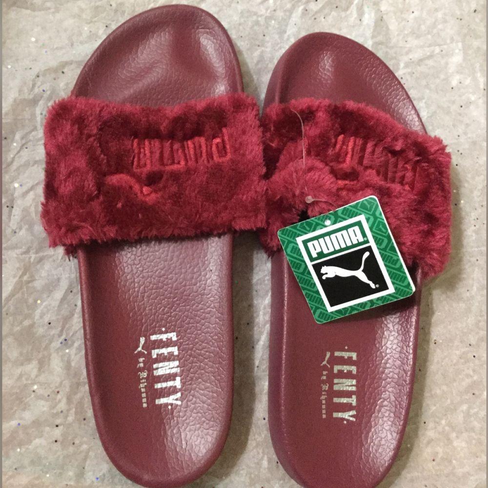 f7e44c144da2 PUMA FENTY Fur Slides by Rihanna
