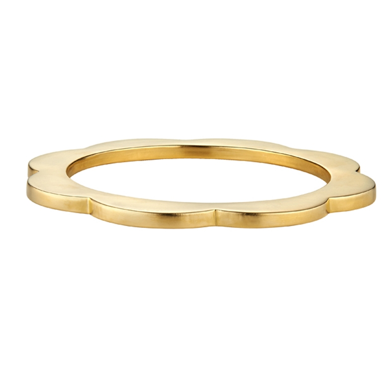 Scallop Bangle  | Asha New York