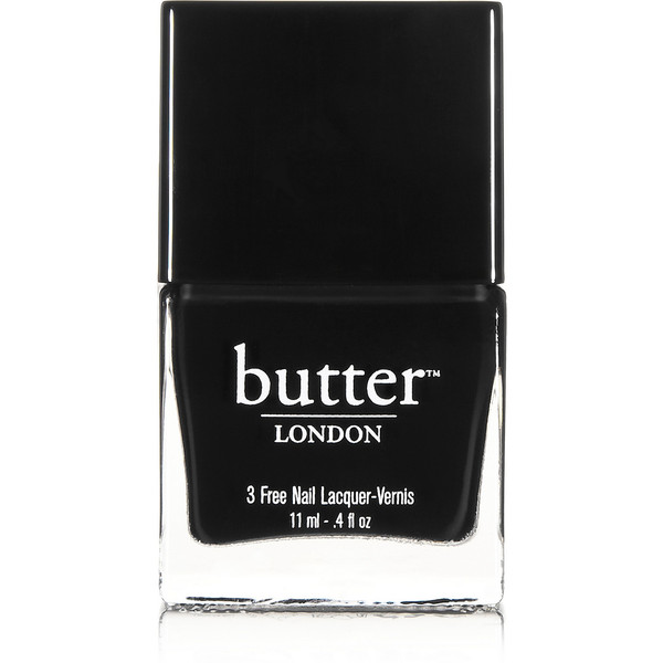 Butter London Union Jack Black - Nail Polish, 11ml - Polyvore