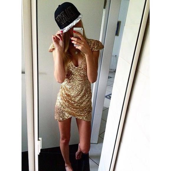 cap hat dress