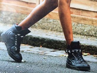 jourdan dunn studded high-tops sneakers