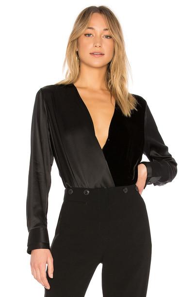 Rag & Bone blouse black top
