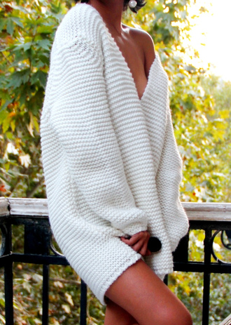 sweater comfy knitwear knitted sweater holey knit sweater white sweater oversized oversized sweater oversized cardigan fall sweater white oversized sweater chunky knit chuncky white creme knit