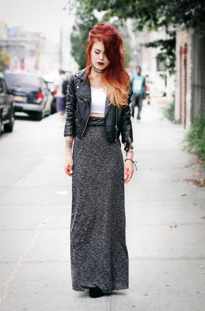 le happy blogger top skirt jacket