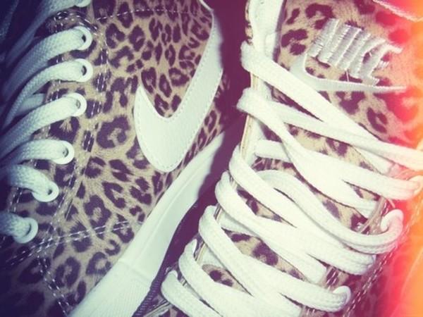 shoes nike sneakers nike sneakers leopard print leopard print blazer