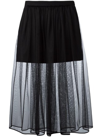 skirt tulle skirt pleated women spandex cotton black silk