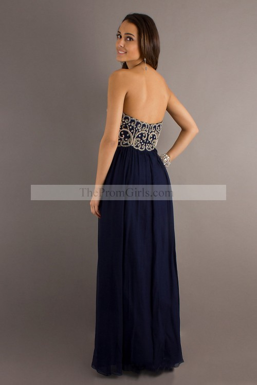 Hot Selling Prom Dresses Sweetheart A Line Floor Length With Beads