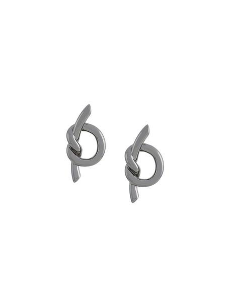 ESHVI women earrings grey jewels