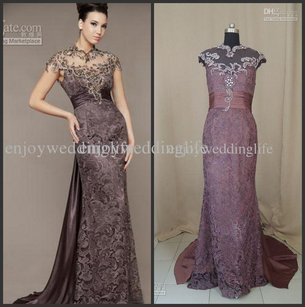 Discount beading cap sleeves backless mermaid evening dresses 80168d online with $115.92/piece