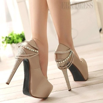 pumps beige fashion heels cute shoes fancy
