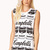 Statement-Making Soup Muscle Tee | FOREVER 21 - 2000066528