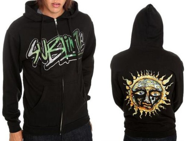 Jacket: sublime, band, hoodie, clothes - Wheretoget