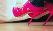 shoes,pink,sandals,high heels