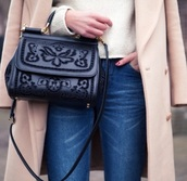 bag,leather,purse,dolce and gabbana