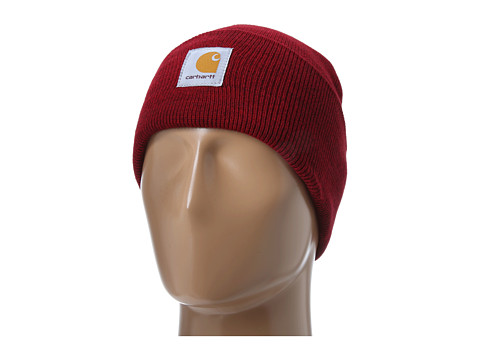 Carhartt Acrylic Watch Hat Merlot Heather - Zappos.com Free Shipping BOTH Ways