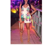dress,clothes,new york city,floral,white dress,shoes