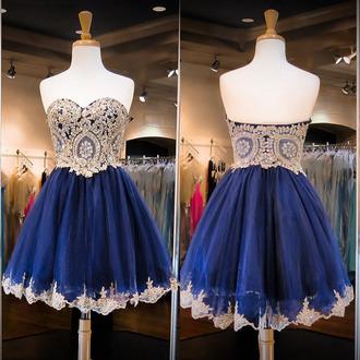 dress prom prom dress short short dress mini mini dress bridesmaid crystal blue blue dress navy navy dress love friend wow fashion girly sweetheart dress style sparkle cute cute dress sexy sexy dress