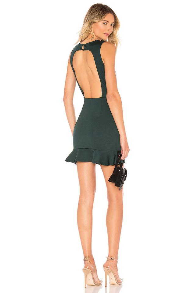 About Us Gabbie Mini Dress in green