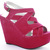 Womens Platform High Heel Strappy Wedges Peeptoe Party Wedge Sandals Shoes Size | eBay