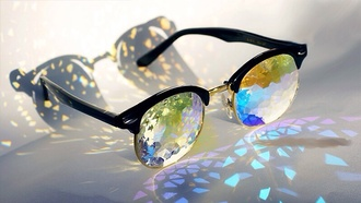 sunglasses colorful cute crazy jewels shiny