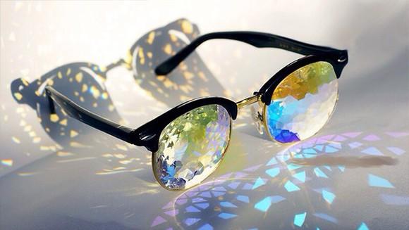 jewels shiny sunglasses colorful cute crazy