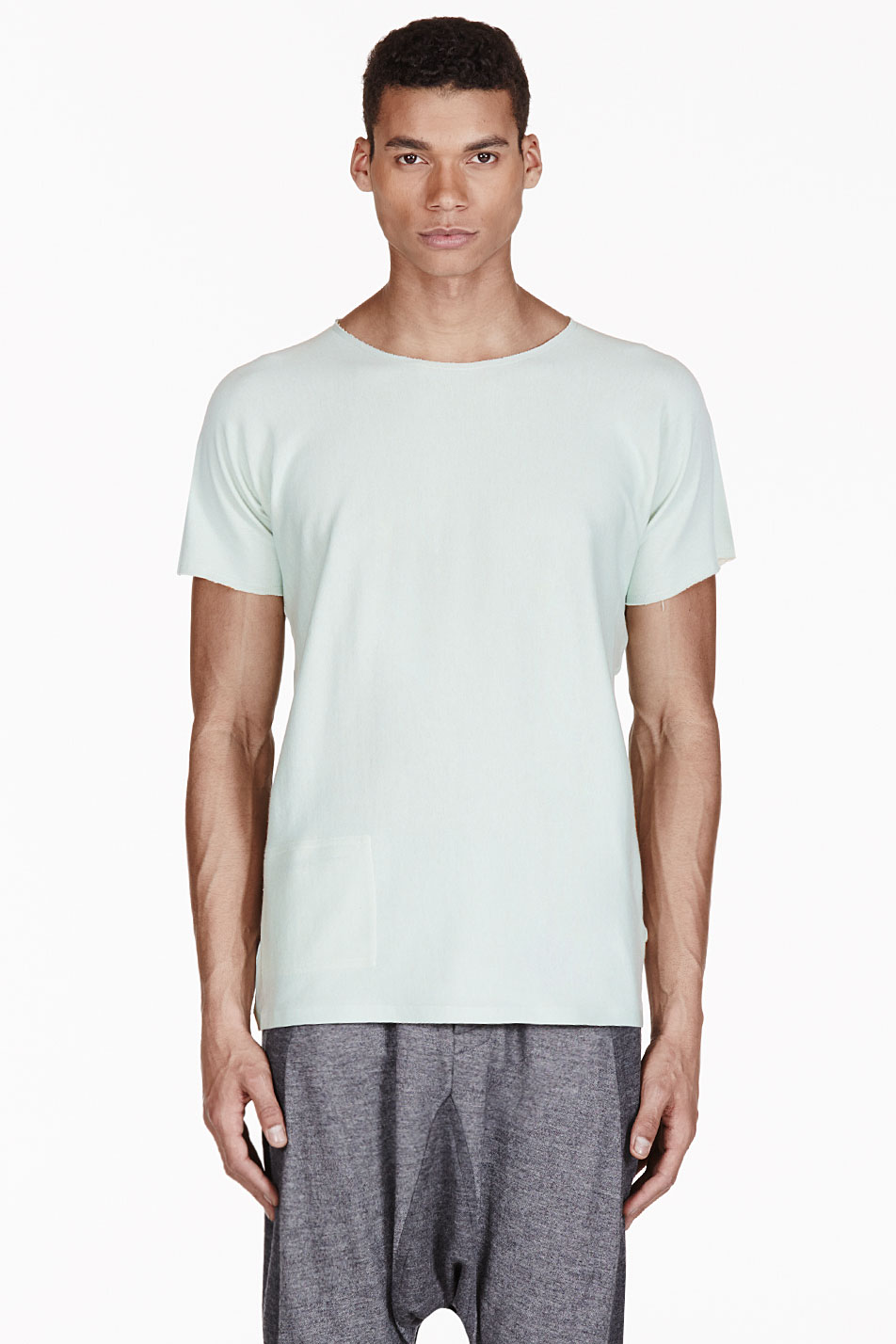 adidas by tom dixon mint green reversible t_shirt