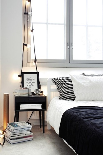 home accessory lights black and white bedding bedding bedroom hipster black and white our favorite home decor 2015