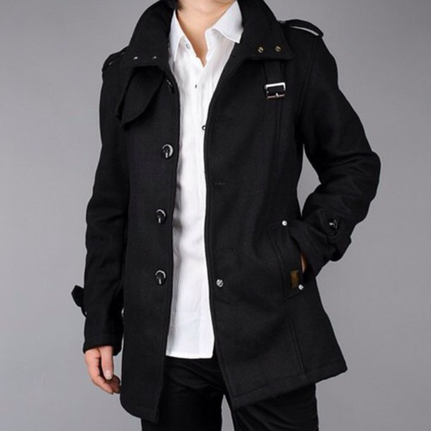 coat menswear mens jacket