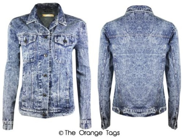 jacket vintage coat jeans acid wash retro denim jacket boyfriend denim jacket vintage coat