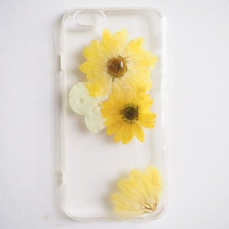 phone cover summer summer handcraft iphone cover cute gift ideas girlfirend gift lovely gift flowers yellow dress gossip girl