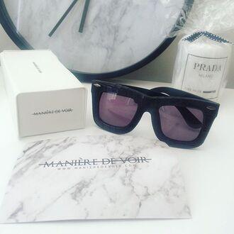sunglasses maniére de voir croc texture acessories fashion trendy summer style kylie jenner kim kardashian